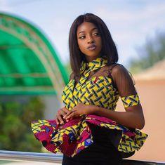 Most trendy ankara fashion styles - Fashion Beau Best African Dresses, Latest African Fashion Dresses, African Print Fashion, Ankara Fashion, African Clothes, African Lace, African Style, African Women, Ankara Styles