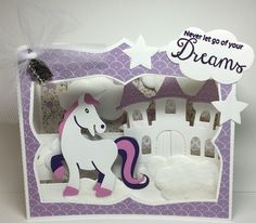 Marianne Design Cards, Birthday Cards, Birthday Parties, Baby Box, Kids Cards, Making Ideas, Wedding Cards, Unicorn Cards, Card Making