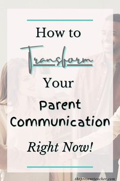 Are you trying to improve your Parent Communication this year? Click now to read why Parent Communication is important and how to improve it. 1st Year Teachers, Parents As Teachers, Classroom Management Tips, Classroom Organization, Teacher Blogs, Teacher Hacks, School Resources, Teacher Resources, Parent Communication Log