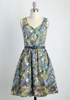 To Thrill a Mockingbird Dress. This cotton dress is so darling, even the birds will sing its praises! #multi #modcloth