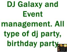 DJ Galaxy and Event management http://www.siyasomarket.com/classified/clsId/15091/dj_galaxy_and_event_management/