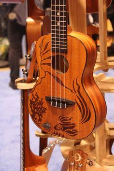 Luna Guitar NAMM 2014 #luna #guitars #music #musicians