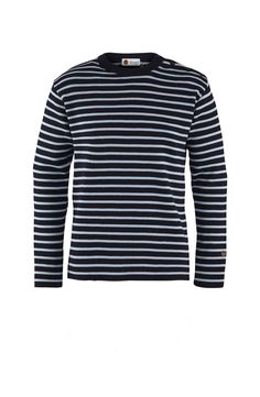 St Hermine Sweater in Dark Blue/Light Blue Dark Blue, Light Blue, Menswear, Long Sleeve, Sleeves, Sweaters, Mens Tops, T Shirt, Shopping