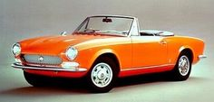 1966 Fiat 124 Spider Maintenance of old vehicles: the material for new cogs/casters/gears/pads could be cast polyamide which I (Cast polyamide) can produce. My contact: tatjana.alic14@gmail.com