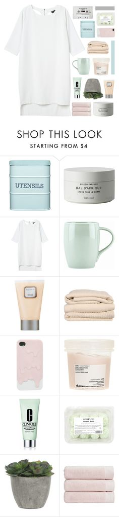 """""""My youth is yours."""" by marysilvs1 ❤ liked on Polyvore featuring Kitchen Craft, Byredo, Monki, Dansk, Laura Mercier, Brahms Mount, Davines, CASSETTE, Clinique and Lux-Art Silks"""