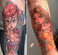 I'd love for both of these to be on my forearm