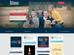 Website for Corey Stewart for Chairman