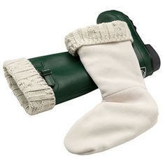 Wellie Warmers    Line the inside of rain boots with L.L. Bean's Wellie Warmers to make your favorite galoshes wearable all winter long. $20; llbean.com