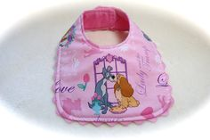 Lady and the Tramp Baby Bib