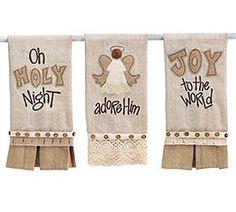 Decorative Christmas Tea Towels