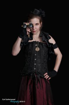 Steampunk Victorian Female by The-Rover.deviantart.com
