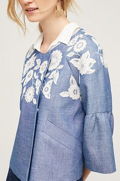 Embroidered Camille Jacket