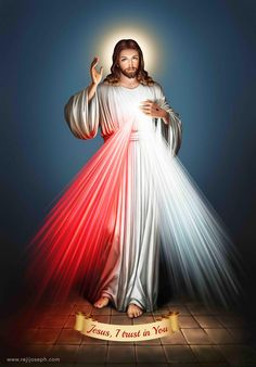 Jesus, I Trust in You. Divine Mercy Image
