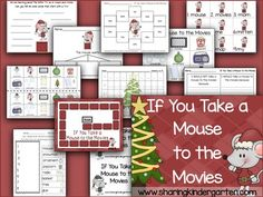 If You Take a Mouse to the Movies Unit - Sharing Kindergarten