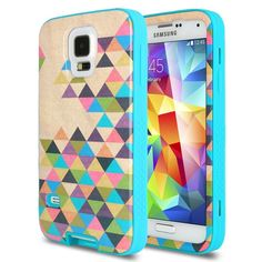 S5 Case, ULAK Samsung Galaxy S5 Case, Hybrid Protective Hard Case for Samsung Galaxy S5 with Designed Pattern and Clear Screen Protector (Competely incomplete)