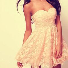 I am gonna need a white dress for convocation and graduation from both school and Seek... this is super cute