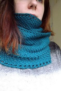 Crochet: Calm Cowl | SpaceLifeThoughts
