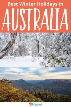 The Best Winter Destinations In Australia We've Selected 10 Winter Holiday Destinations You'll Love For The Holidays, Christmas Or Winter Vacation - With Options For Hot Or Cold Weather Australia Is An Amazing Country Whereas You Can Experience The Joy Of Perth, Brisbane, Melbourne, Sydney, Winter In Australia, Visit Australia, Australia Travel, Outback Australia, Australia Destinations
