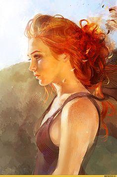 art-Рыженькая-девушка-542653.jpeg (801×1200)