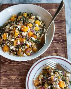 Recipe: Golden Beet and Barley Salad with Rainbow Chard /