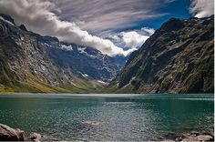 Lake Marian, Fiordland National Park, New Zealand
