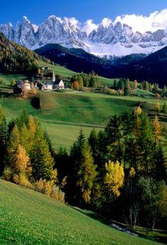 Funes - Santa Maddalena, Trentino-Alto Adige, Italy