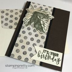 Inspired By Color Birthday Card | Mary Fish, Stampin' Pretty The Art of Simple & Pretty Cards | Bloglovin'