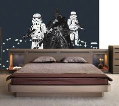 Star Wars Wall Mural / This features the quote from Star Wars Wall Mural. This is made out of the highest quality vinyl by Value Decals. http://thegadgetflow.com/portfolio/star-wars-wall-mural-260/