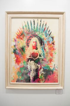 Game of Thrones inspired Art Show. Heart & Will, Jacob Bannon