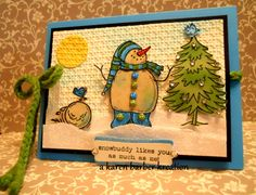 CC401 -ONE IS THE LONELIEST NUMBER..... by Karen B Barber - Cards and Paper Crafts at Splitcoaststampers