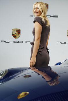 Maria Sharapova Photo - Maria Sharapova Loves Porsche