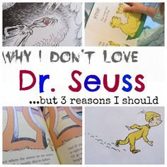 My confession of why I don't love the ever popular Dr. Seuss, but 3 reasons I should!  Come chat with me about Dr. Seuss and all the ways we can be inspired by his imagination for our children to learn to read and raise strong readers! #teachmama #weteach #readwithkbn #drsuess #drsuessbooks #reading #teaching #education #teachertip #bookrecommendation #teacherresource