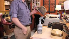 How to Waterproof a Felt Hat : Felt Hats #millinery #judithm #hats