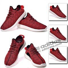 adidas yeezy boost 350 nouvelle chaussure homme rouge noir 2 aditrace
