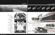 Architecture Portfolio 53-54 by Kai . L, via Flickr