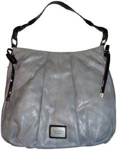 Simply Vera Vera Wang Purse Handbag Willow Hobo Salty Gray