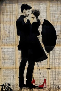 """""""One"""" - canvas print by Loui Jover"""