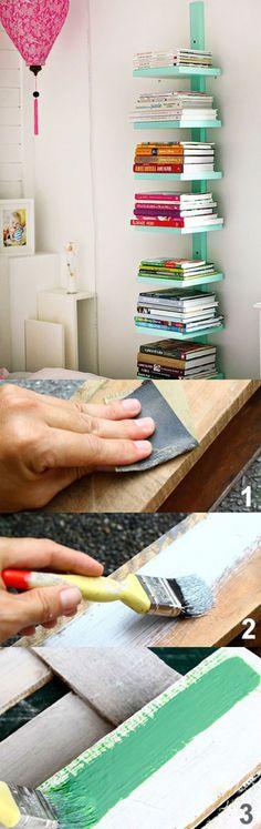 nala notes: horizontal wall shelving
