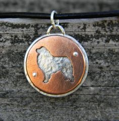 Wish this was still available! great pyrenees pendant- want!