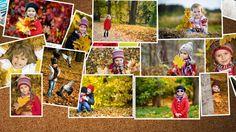 Rassemblez vos plus belles photos d'automne dans un poster pêle-mêle avec Picthema. #picthema #posters #automne #pics