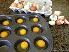 How To Freeze Eggs Freeze eggs?-- Does it sound crazy?-- It's crazy-simple and crazy useful! Freezing eggs is easy and a great way to preserve eggs too -- very versatile. Freezing Your Eggs, Freezing Fruit, How To Freeze Eggs, Freezing Milk, Egg Storage, Food Storage, Canning Recipes, Egg Recipes, Recipies