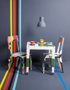 Cable furniture for #LTM gift shop by www.anthonyhartley.com