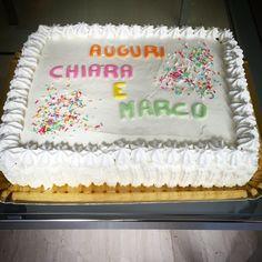 Torta ripiena di crema e cioccolato ricoperta di ganache di cioccolato bianco 😋 #instafood #ilas #ilasSweetness #torta #compleanno #pandispagna  http://ilas.webnode.it/ https://www.facebook.com/ilascake
