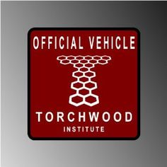"Dr. Who Torchwood Captain Jack Parking Decal Vinyl Decal Bumper Sticker 4"" X 4""    #Doctorwho #Torchwood #Captain #Jack #Parking #Decal #Vinyl #Bumper #Sticker"