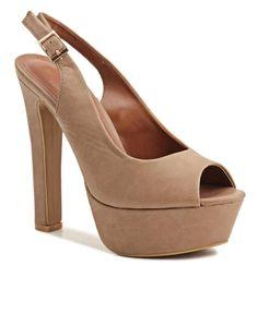 Cagliari - Taupe Taupe, Feminine, Lady, Heels, Shopping, Style, Fashion, Beige, Women's