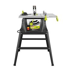 Ryobi 15 amp 10 in portable table rip cross cut saw power tool airtoolsdepot craftsman evolv 15 amp 10 in table saw 28461 by craftsman evolv we are delighted to offer the fantastic craftsman evolv 15 greentooth Image collections