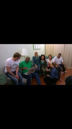 Fellowshipping with brothers and sisters in Russia