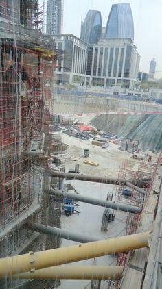 The new phase of Dubai Mall - construction never sleeps!