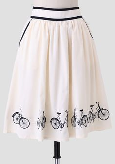 Afternoon Ride Skirt at #Ruche @Ruche