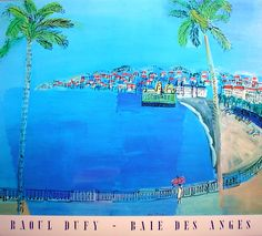 Raoul Dufy --Land and Sea